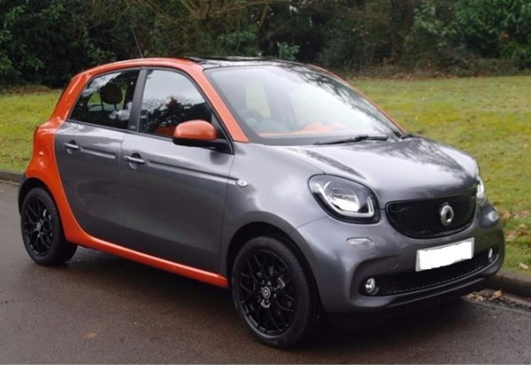 SMART FORFOUR 1/4