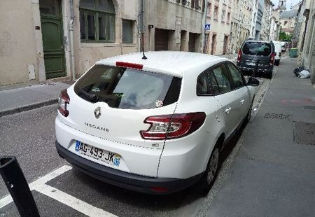RENAULT MEGANE III ESTATE 3/4