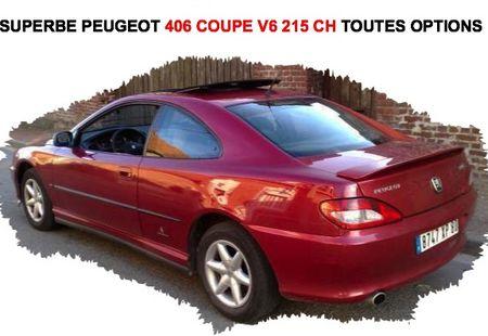 PEUGEOT 406 C 1/4