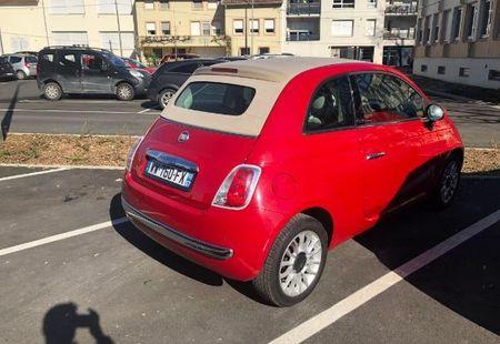 FIAT 500C 1/4